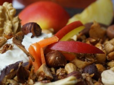 Apfel-Kürbis Granola